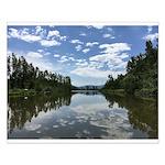 Sumas River Small Poster