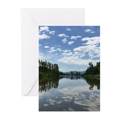 Sumas River Greeting Cards