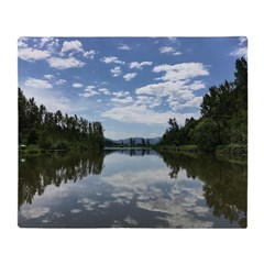 Sumas River Throw Blanket