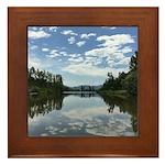 Sumas River Framed Tile