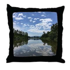 Sumas River Throw Pillow