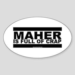 Maher Oval Sticker