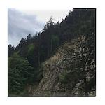 Abbotsford Mountains Tile Coaster