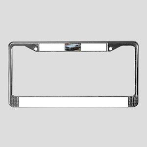 Custom Cruiser License Plate Frame