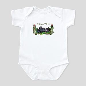 Sleeping Scottie Infant Bodysuit