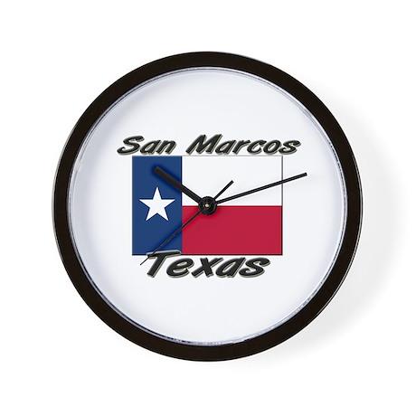 San Marcos Texas Wall Clock
