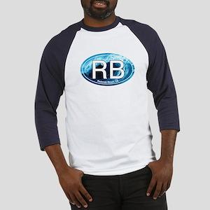 RB Redondo Beach, CA Oval Baseball Jersey
