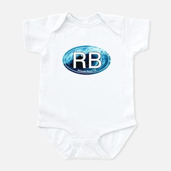 RB Redondo Beach, CA Oval Infant Bodysuit