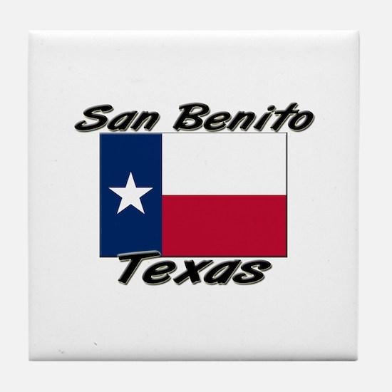 San Benito Texas Tile Coaster