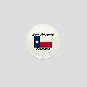 San Antonio Texas Mini Button