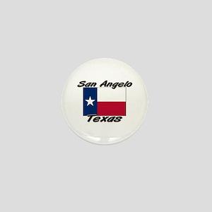 San Angelo Texas Mini Button
