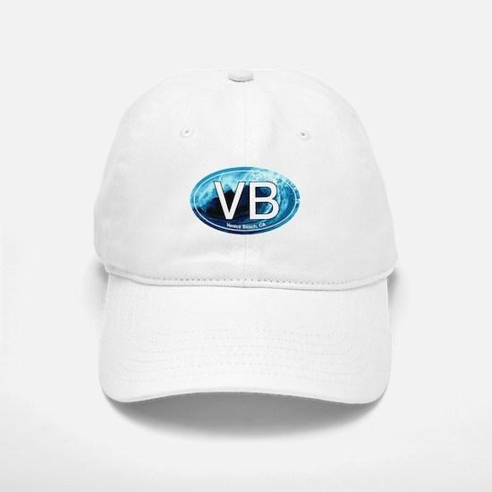 VB Venice Beach, CA Wave Oval Baseball Baseball Cap