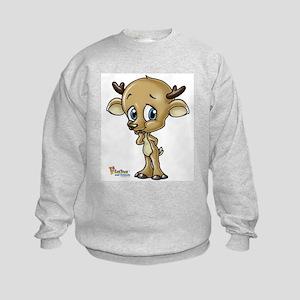 Baby Deer Kids Sweatshirt