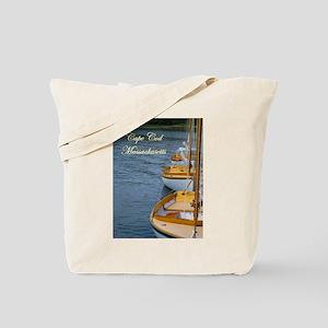 Harbor Boats - Cape Cod Massa Tote Bag
