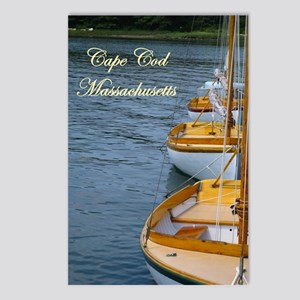 Harbor Boats - Cape Cod Massa Postcards (Package o