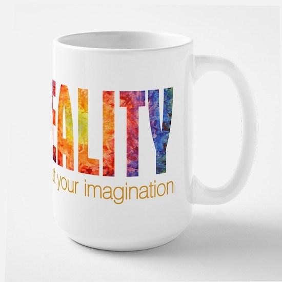 Reality Imagination Large Mug