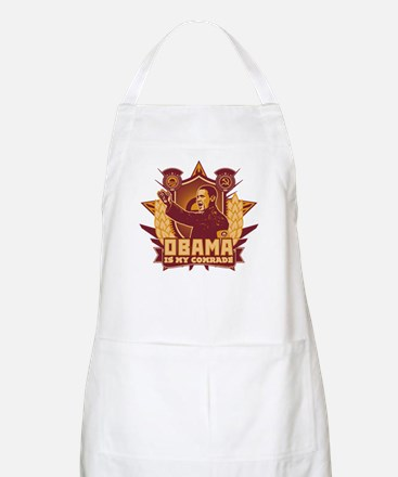 Barack Is My Comrade! BBQ Apron