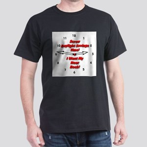 Screw Daylight Savings Time! Dark T-Shirt
