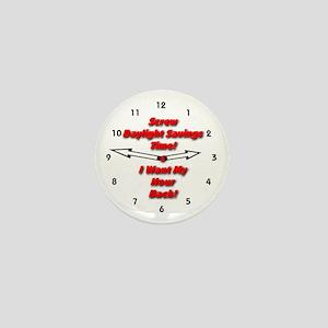 Screw Daylight Savings Time! Mini Button