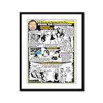 Woz Pranks Framed Panel Print