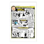 Woz Pranks Postcards (Package of 8)