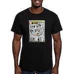 Woz Pranks Men's Fitted T-Shirt (dark)