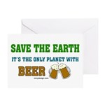 Save The Beer Greeting Card