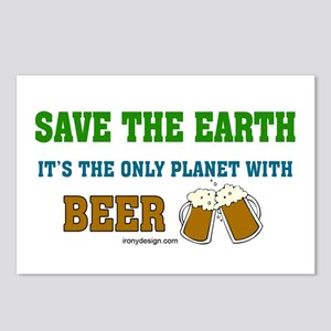 Save The Beer Postcards (Package of 8)