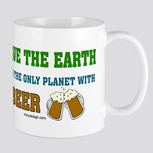 Save The Beer Mug