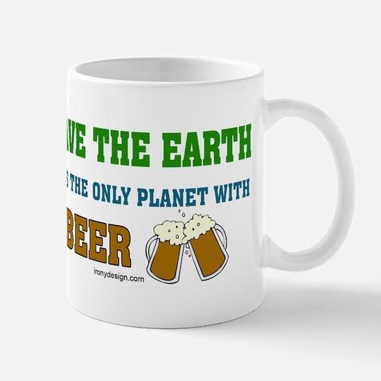 Save The Beer Mug