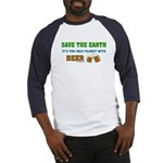 Save The Beer Baseball Jersey
