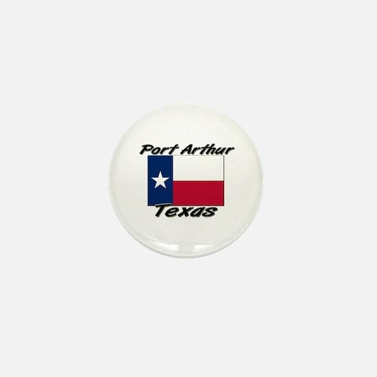 Port Arthur Texas Mini Button