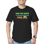 Save The Beer Men's Fitted T-Shirt (dark)