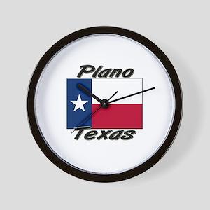 Plano Texas Wall Clock
