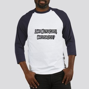 """""""Multiple Sclerosis..Excuse?"""" Baseball Jersey"""