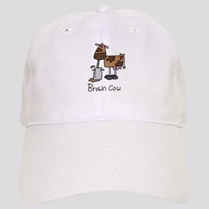 62faa087f18 Brown Chicken Brown Cow Hats - CafePress