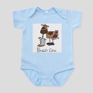 Brown Cow Infant Bodysuit