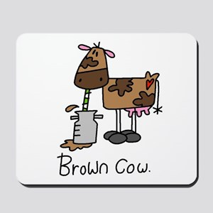Brown Cow Mousepad