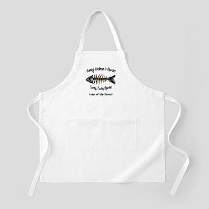 Eating Walleye is Murder BBQ Apron
