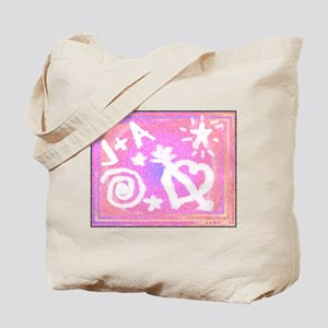 J+A Tote Bag