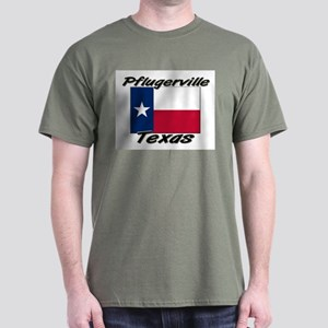 Pflugerville Texas Dark T-Shirt