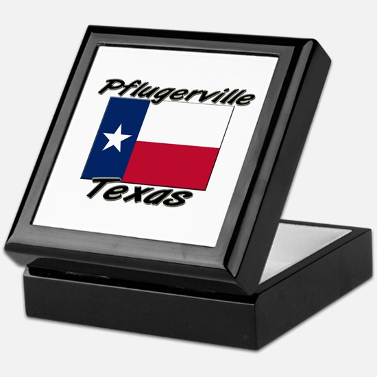 Pflugerville Texas Keepsake Box