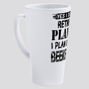 Beekeeper 17 oz Latte Mug