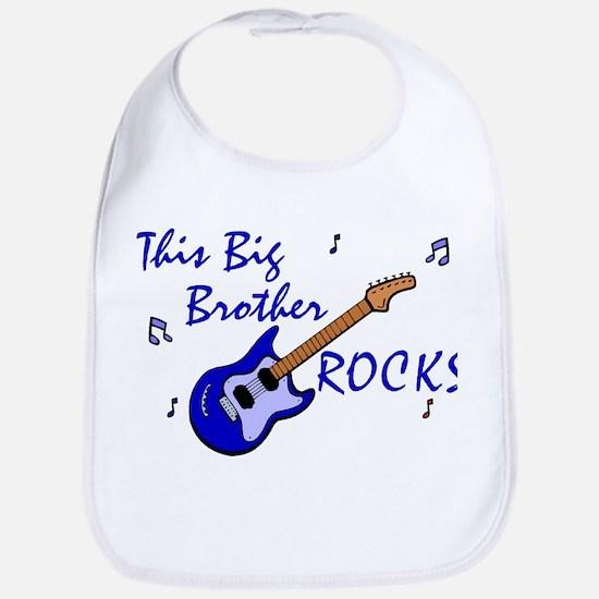 This Big Brother Rocks Bib