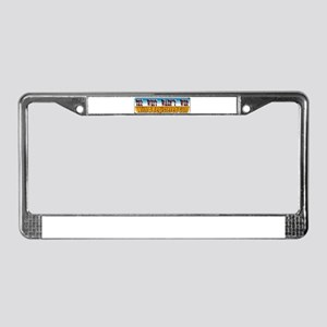 The West Wasn't Won License Plate Frame