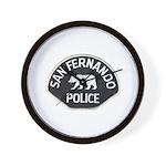 San Fernando Police Wall Clock