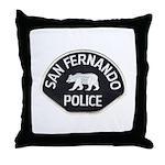 San Fernando Police Throw Pillow