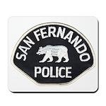 San Fernando Police Mousepad