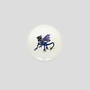 Blue Dragon Mini Button