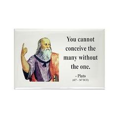 Plato 7 Rectangle Magnet (100 pack)